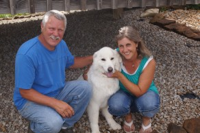 Me, Jim, Bella June 2013