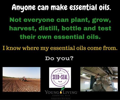 Know Where your Oils Come From